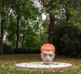 Red Hair  2018  Keramiek  h.109cm