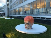 Red Hair 2018, h.109 cm, Art Rotterdam 2020.