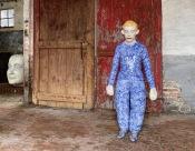 Performer IV / Blue 2020, h.120 cm, Ceramics, Expo: Let's Get Out