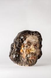 Commedia 2018, h.30,5 cm, Ceramics.