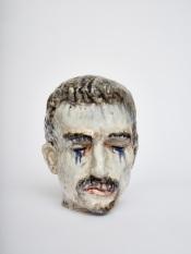 Histrionis  2019, h.30 cm, Ceramics.