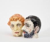 Commedia 2018, 28,5 cm / h.28,5 cm, Ceramics.