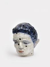 Perforated head II, 2020